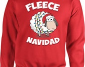 Funny Christmas Hoodie Fleece Navidad Feliz Navidad Merry Christmas Xmas Sweater Christmas Gift Ideas Holiday Jumper Christmas Tops - SA514