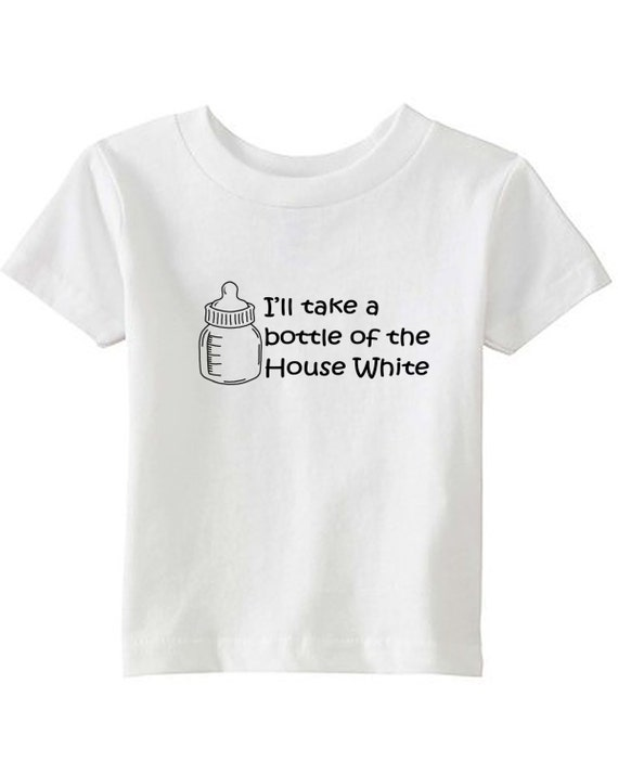 I'll Take a Bottle of the House White - Kids T-shirt