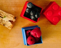 Lego Mini Box Blue - Mini Box - Lego Gift Box - Snack Box - Gift for children - Gift for niece - Gift for nephew - Gift for son -  [LGMB002]