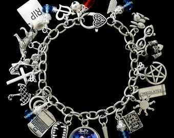 Buffy The Vampire Slayer Themed Charm Bracelet