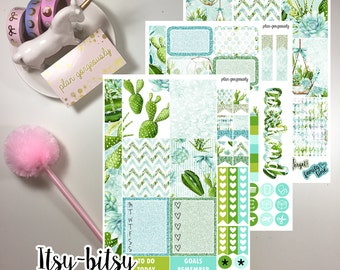 "Personal Sticker Kit - ""Succulent and Sweet"" - Personal Planner Stickers"