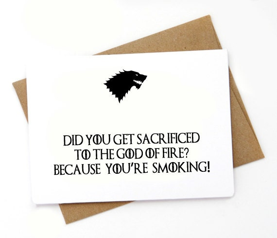 Awesome Game of Thrones Valentine cards perfect for Valentine's Day! If you're looking for Valentine's Day ideas for Game of Thrones fans, this list is a must-read.