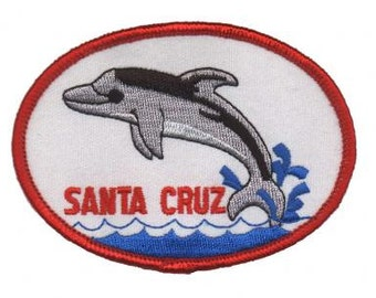 Vintage Santa Cruz Dolphin Patch