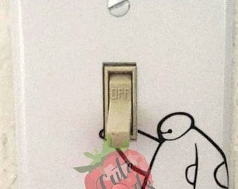 BayMax Lightswitch cover