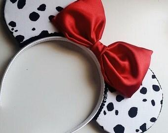 Dalmatian Mouse Ears