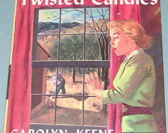 Nancy Drew #9 Sign of Twisted Candles 1st PC