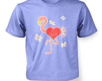 Flamingo Love kids t-shirt