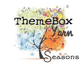 PREORDER - SPRING - ThemeBox Yarn Seasons - Subscription Box - Yarn Club - Gifts for Knitters - Yarn Gift - Yarn of the Month Club