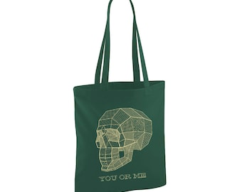 Military green fabric bag