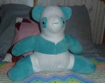 Furry Blue Panda