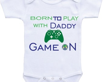 My Uncle Is A Gamer Baby Clothes
