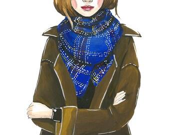 Fashion illustration print,fashion illustration sketch,fashion art,fashion wall art,fashion print, fashion poster,girly sketch,fashion art