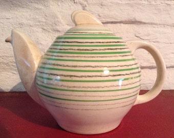Susie Cooper Art Deco Kestral Shape Teapot/ 1932/34/Crown works