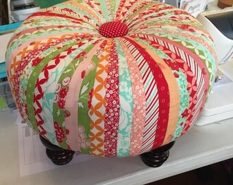"""18"""" Tuffett, fabric by Moda, Bonnie and Camille completed with feet"""