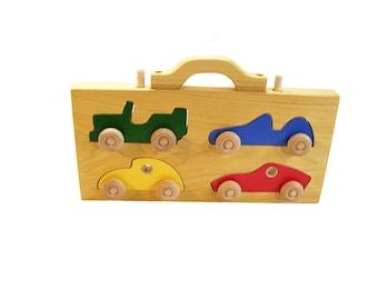 Car four pack puzzle