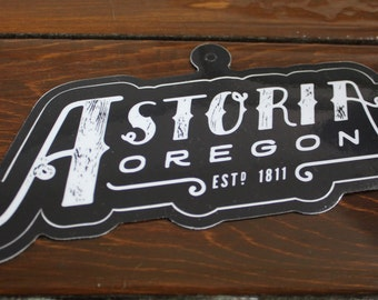 Astoria Oregon - Sticker