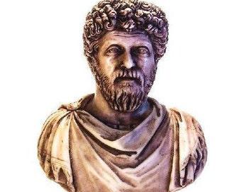 MARCUS AURELIUS Statue / Roman Emperor