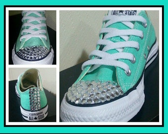 Cute bling converse for women