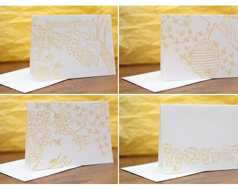 Honey Note Cards