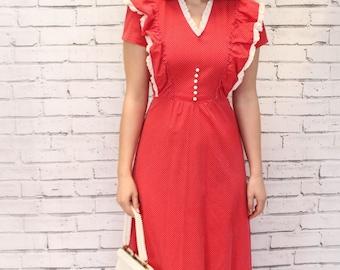 PRICE REDUCED Peasant Dress