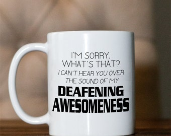 Coffee mug- Archer - Deafening Awesomeness