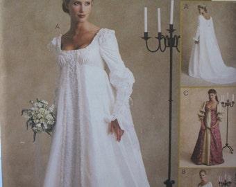 Pattern Mc Calls 2645   Wedding Dress.... Medieval Dress