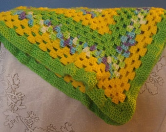 Baby Blanket, Spring Blanket
