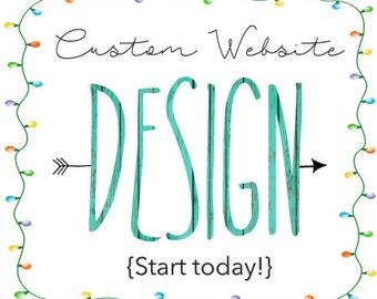 Shopify Setup Package - The Works! Online Shop, Web Design, eCommerce Web Site, Custom Web Design, Shopify, Online Shop, Boutique, branding