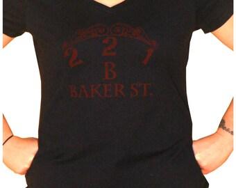 221B Baker St. Womens T-Shirt