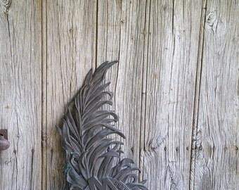 French Antique Bronze Art Nouveau Arts et Metiers Plaque  -  Bronze Arts and Crafts Wall Plaque