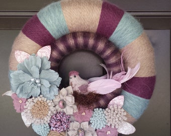 Double yarn wreath REDUCED PRICE