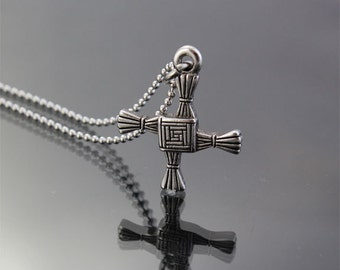 St Brigid's Celtic Cross Pendant, USA Quality Made, Free, Shipping, Rhode Island Manufacturer
