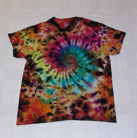 Tie dye t shirt galaxy swirl cotton for Custom tie dye t shirts