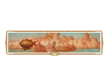 Spirit Flight Bookmark, Tom Kidd, Gnemo, airship