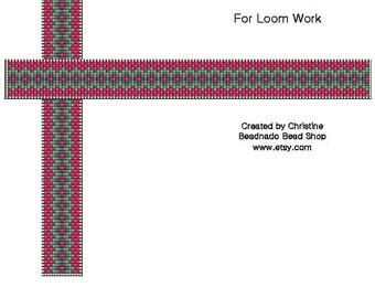 Berries and Ivy Bead Loom Pattern