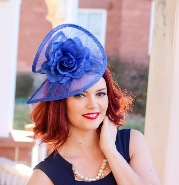 British wedding hats for women royal blue fascinator tea for Housedesigner com plans