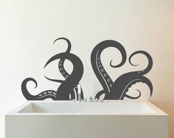 Tenticles - Vinyl Wall Decal