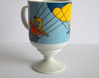 Hot Air Balloon Mug / Teacup / Coffee Cup / Children's Mug / Ceramic