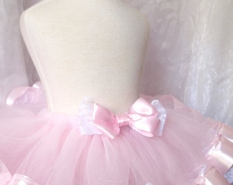 Pink and Chantilly Lace Tutu