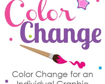 Color Change - Individual Graphic