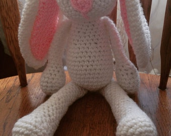 Crocheted Easter Bunny!