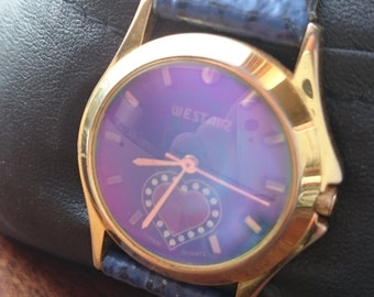 woman watch westair Gold Plated 18k working                                                                                        .