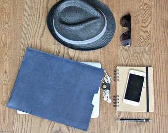 MacBook sleeve, leather MacBook sleeve, MacBook case, leather case, leather cover for laptop, 03011