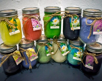 Soy Candle: Spring Collection 16oz Hand Poured