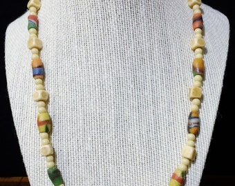 20'' Beaded surfers necklace.
