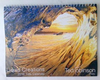 2016 Tide Calendar-Surf Photos