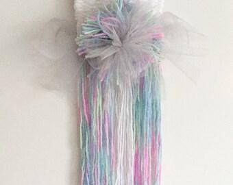 Gorgeous OOAK Pastel Weaving