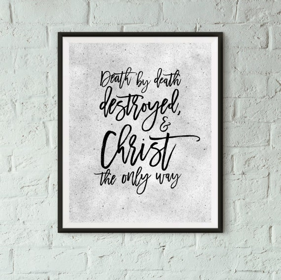 Christian Home Decorations: Easter Christian Home Decor Christian Poster By