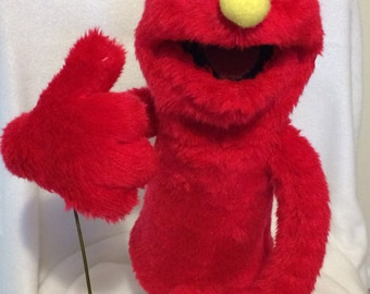 L'il Red Monster Puppet