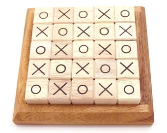 Wooden Toy : OX Puzzle - The Organic Natural Puzzle Game Play for Baby and Kids